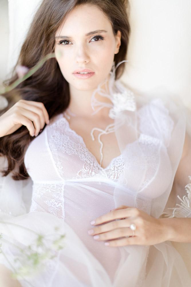 Bridal boudoir photography make up by Frantzeska Koukoula make up and hair artist.